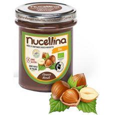 NUCELLINA Pâte à tartiner choco-noisette bio 215g