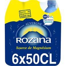 Rozana eau minérale gazeuse 6x50cl
