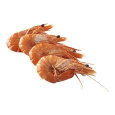 LA MARÉE DU JOUR Crevettes entières cuites réfrigérées bio 2 à 3 pièces 100g