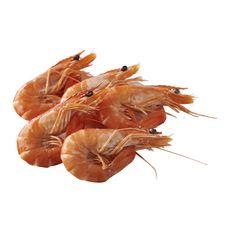 LA MARÉE DU JOUR Crevettes entières cuites Label Rouge 5 à 6 pièces 100g