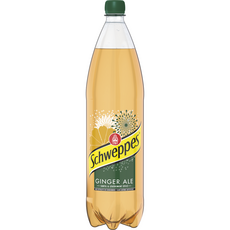 SCHWEPPES Ginger Ale Boisson gazeuse saveur gingembre 1,5l