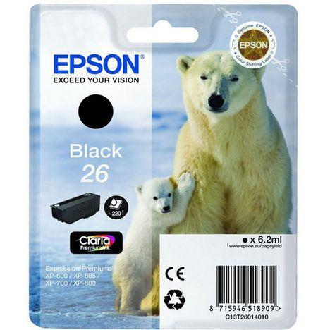 EPSON Cartouche 26 - Noir