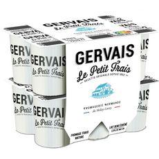 GERVAIS Gervais Le petit Frais fromage frais nature 12x60g 12x60g