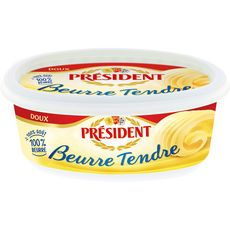 PRESIDENT Beurre tendre doux 250g
