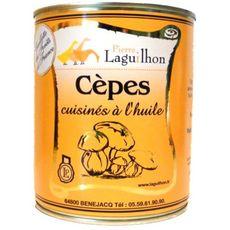 LAGUILHON Cèpes cuisinés à l'huile 600g