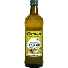 CAUVIN La véritable huile d'olive vierge extra 1l