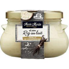 MARIE MORIN Dessert riz au lait à la vanille de Madagascar 3 à 5 parts 500g