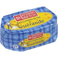 PAYSAN BRETON Beurre demi-sel au sel de Guérande 250g