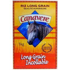 CANAVERE Riz long grain incollable qualité supérieur 1kg