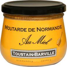 TOUSTAIN-BARVILLE Moutarde de Normandie au miel 260G