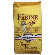 MOULINS DE VERSAILLES Farine de blé super froment 1kg