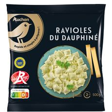 AUCHAN GOURMET Ravioles du Dauphiné IGP label rouge 500g