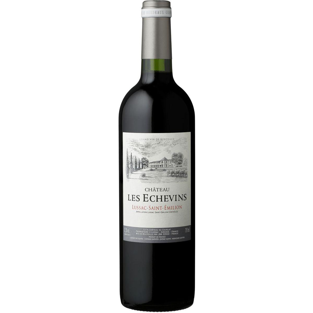 AOP Lussac-Saint-Emilion Château Les Echevins rouge 2018