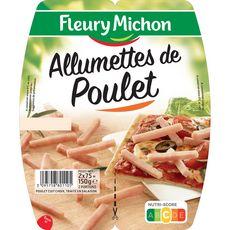 FLEURY MICHON Allumettes de poulet 2x75g