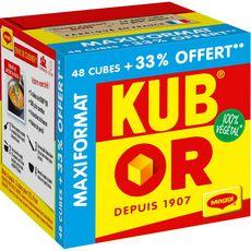 MAGGI Maggi Kub or 100% végétal +33% offert 380g 64 cubes 380g