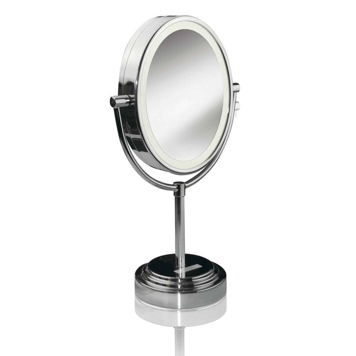 Miroir lumineux 8437E - Chrome