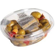 TROPIC APERO Olives vertes dénoyautées de grèce chilienne 220g