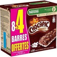 CHOCAPIC Barres de céréales 8+4 offertes 12 barres 12x25g