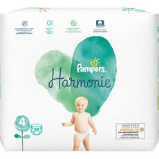 Pampers PAMPERS Harmonie couches taille 4 (9-14kg)