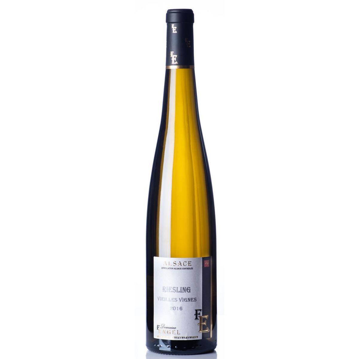 AOP Alsace Riesling bio Domaine Engel vieilles vignes 2016 blanc