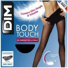 DIM Dim Collant body touch transparent noir 20D taille 3 x1 1 paire