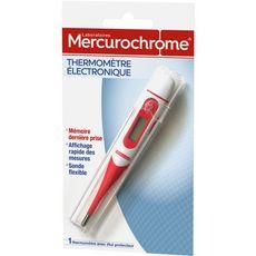 MERCUROCHROME Thermomètre électronique 1 pièce