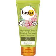 Lovea Masque visage purifiant à l'argile rose peaux sensibles 75ml