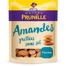 MAITRE PRUNILLE Amandes grillés sans sel 400g