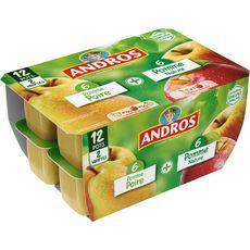 ANDROS Spécialité à la pomme et à la poire 12x100g