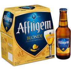 AFFLIGEM Bière blonde belge d'abbaye 6,7% bouteilles 6x25cl