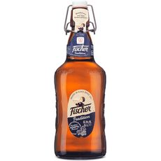 FISCHER Bière blonde tradition d'alsace 6% verre consigné 65cl
