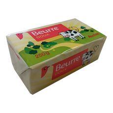 Auchan Beurre doux 250g