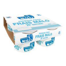 MALO MALO Fromage Frais 20 % nature 4x100g 4x100g 4x100g