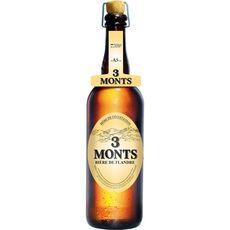 3 monts Bière blonde des Flandres 8,5% 75cl
