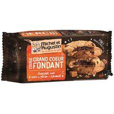 MICHEL ET AUGUSTIN Michel et Augustin Cookies chocolat noir noix de pécan caramel x6 180g 6 Biscuits 180g