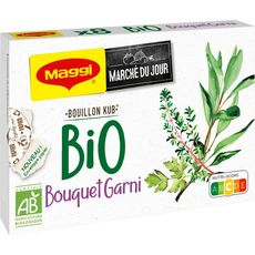 MAGGI Bouillon Kub bouquet garni bio 8 tablettes 80g