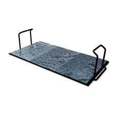 PALAZZETTI Planche de cuisson en pierre de lave pour barbecue 68cm