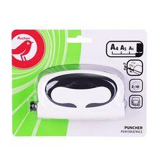 Perforatrice 2 trous A4 / A5 / A6 blanc et noir