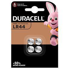 DURACELL Lot de 4 piles bouton type LR44 4 pièces