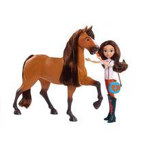 GIOCHI PREZIOSI Spirit - Coffret Spirit deluxe avec poupée et accessoires