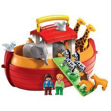 PLAYMOBIL 6765 - 1.2.3 - Arche de Noé Transportable