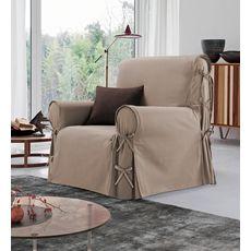 Housse de fauteuil à nouettes en coton