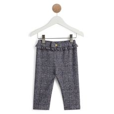 IN EXTENSO Pantalon à carreaux bébé fille (Bleu marine )