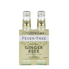 FEVER TREE Fever Tree Ginger Beer SS Premium Mixer 4X20cl 4x20cl