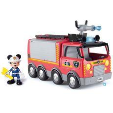 IMC TOYS Camion de pompiers sons et lumières - Mickey