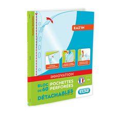 ELBA  Bloc de 60 pochettes perforées détachables A4