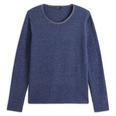 IN EXTENSO Pull femme (Bleu jean)