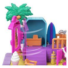 MATTEL Polly Pocket - Pollyville - Journée à la plage