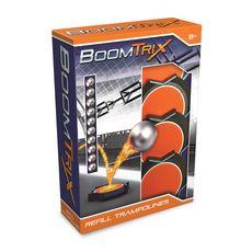 GOLIATH Pack de 4 trampolines + 10 billes métalliques - Boomtrix Refill