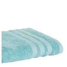 ACTUEL Serviette invité unie en coton  500 g/m² (Bleu ciel)